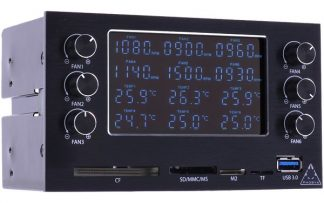 MaxGuide 6-Channel Dual-bay Fan/Pump VFD-controller (36w/ch)-2