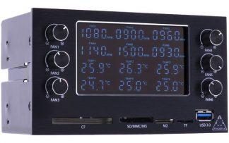 MaxGuide 6-Channel Dual-bay Fan/Pump VFD-controller (36w/ch)-2