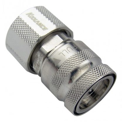QD3 Female Quick Disconnect No-Spill Coupling
