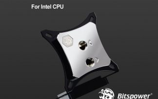 Bitspower CPU Block Summit EF-X Silver