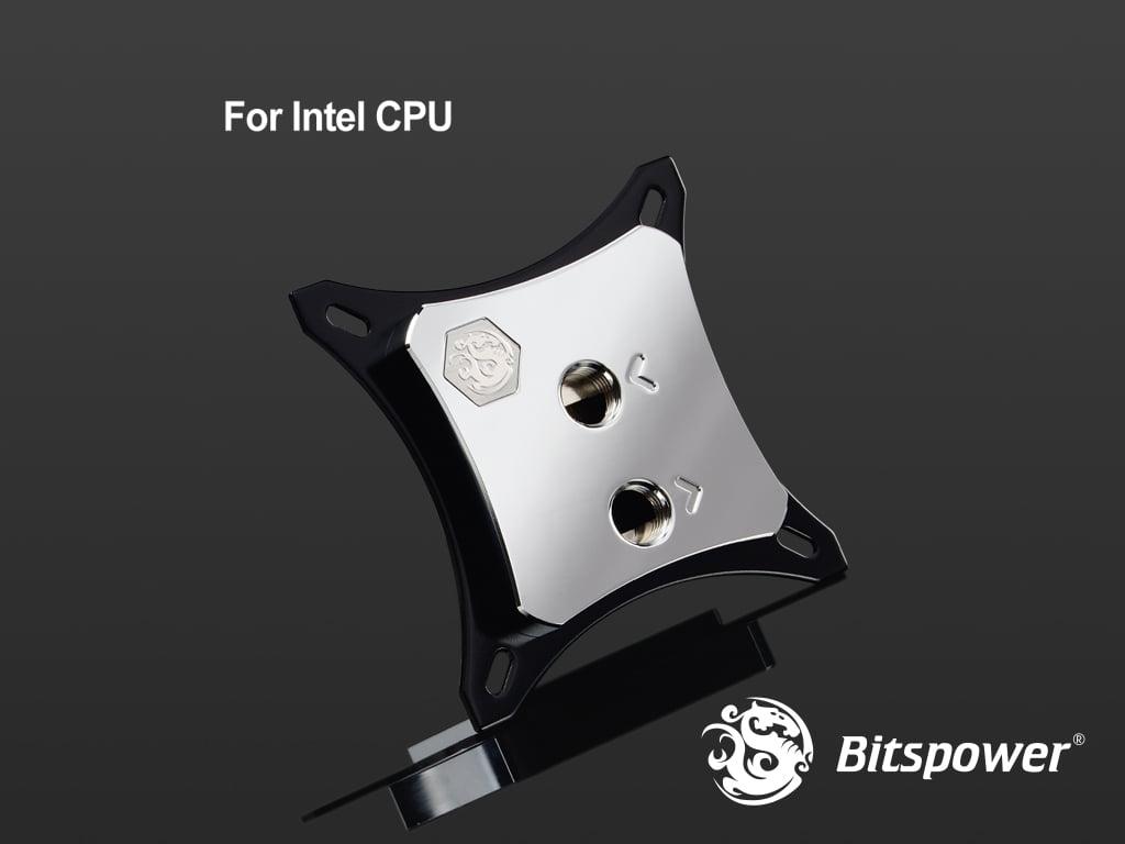 Bitspower CPU Block Summit EF-X Silver