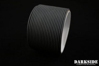 """5/64"""" ( 2mm ) DarkSide HD Cable Sleeving - Gun Metal-2"""