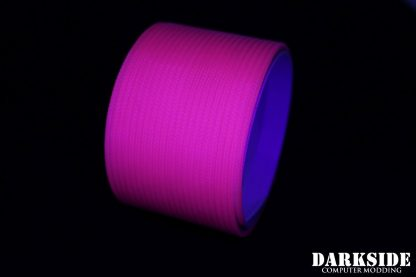 "5/64"" ( 2mm ) DarkSide HD Cable Sleeving - Hot Pink (UV)"