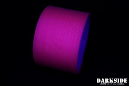 "5/32"" (4mm) DarkSide HD Cable Sleeving - Hot Pink (UV)"