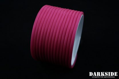 "5/32"" (4mm) DarkSide HD Cable Sleeving - Hot Pink (UV)-3"