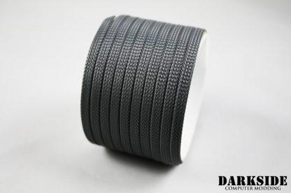 """1/4"""" ( 6mm ) DarkSide High Density Cable Sleeving - Gun Metal-2"""