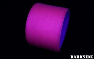 10mm HD SATA Cable Sleeving - Hot Pink (UV)