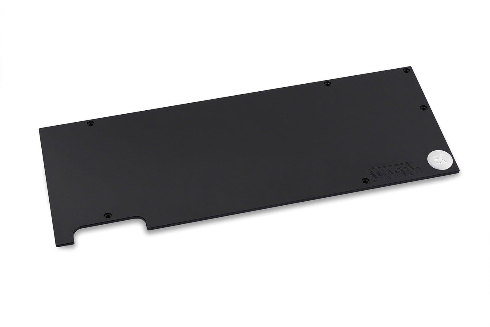 EK-FC1080 GTX Ti (and FE)  Backplate - Black