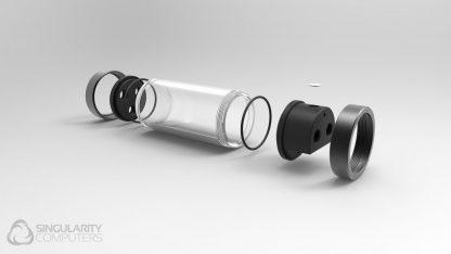 Protium 250mm / large Black / Acetal-4