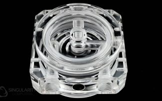 D5 Pump Top Polished Acrylic