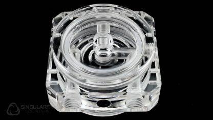 D5 Pump Top Polished Acrylic