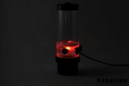 D5 BARREL185  Reservoir-Top Combo -Clear  (pump installation optional) SMALL Rev3-7
