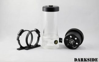 D5 BARREL 220  Reservoir-Top Combo - Clear  (pump installation optional) MEDIUM Rev3-4