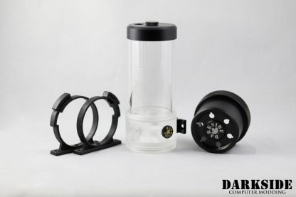 D5 BARREL 220  Reservoir-Top Combo - Clear  (pump installation optional) MEDIUM Rev3-4