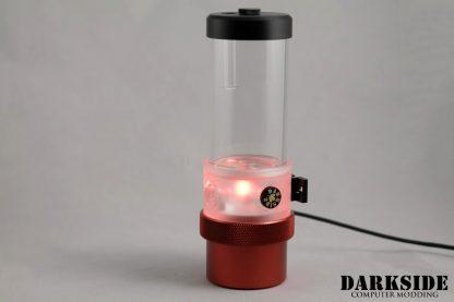 D5 BARREL 220  Reservoir-Top Combo - Clear  (pump installation optional) MEDIUM Rev3-8