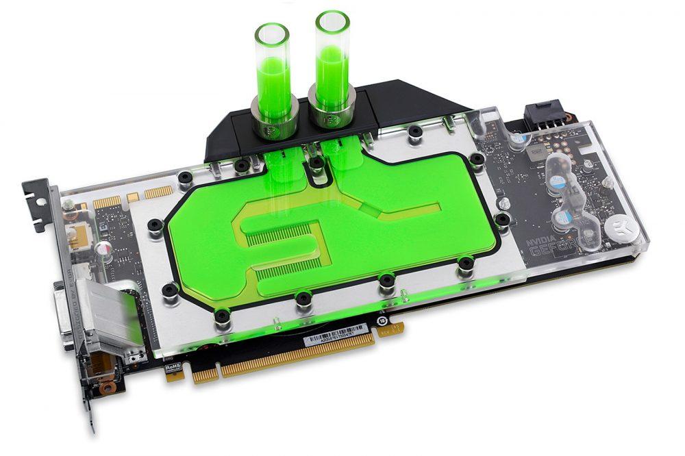 EK-FC GeForce GTX FE - Nickel  (Reference GeForce GTX 1060