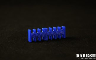 14-pin Cable Management Holder Comb - Dark Blue