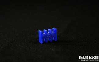 6-pin Cable Management Holder Comb - Dark Blue