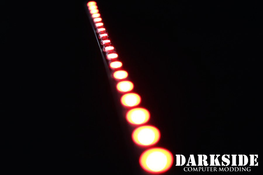 7in DarkSide LED Strip Red