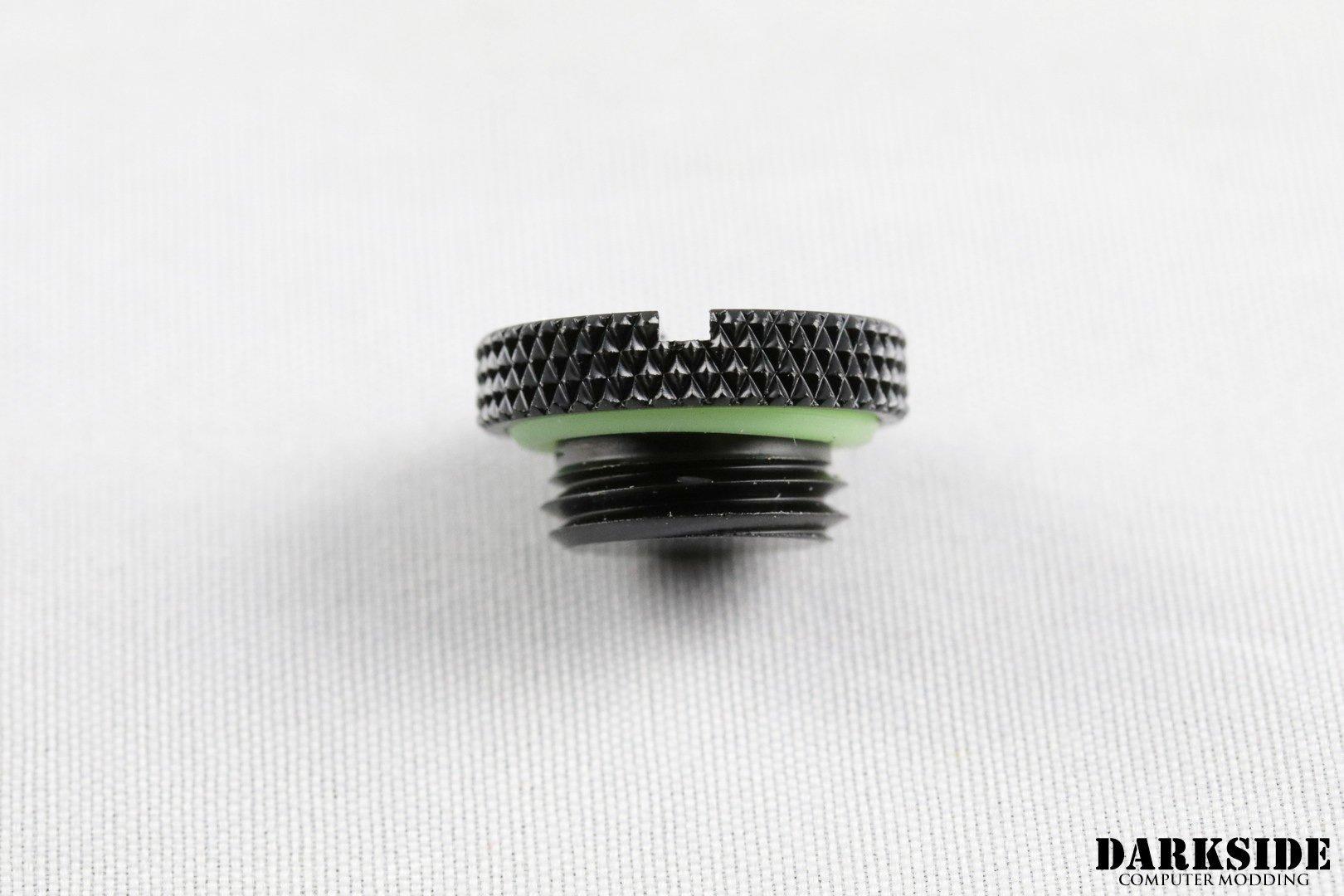 Stop Plug Fitting – G1/4″ -Black