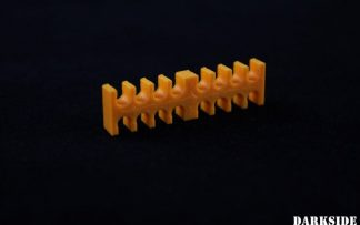 16-pin Cable Management Holder Comb - Orange
