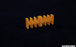 14-Pin Cable Management Holder Comb – Orange