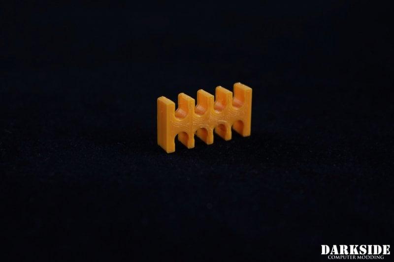 8-pin Cable Management Holder Comb - Orange