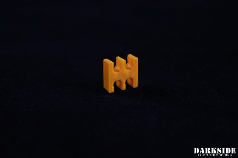 4-pin Cable Management Holder Comb - Orange