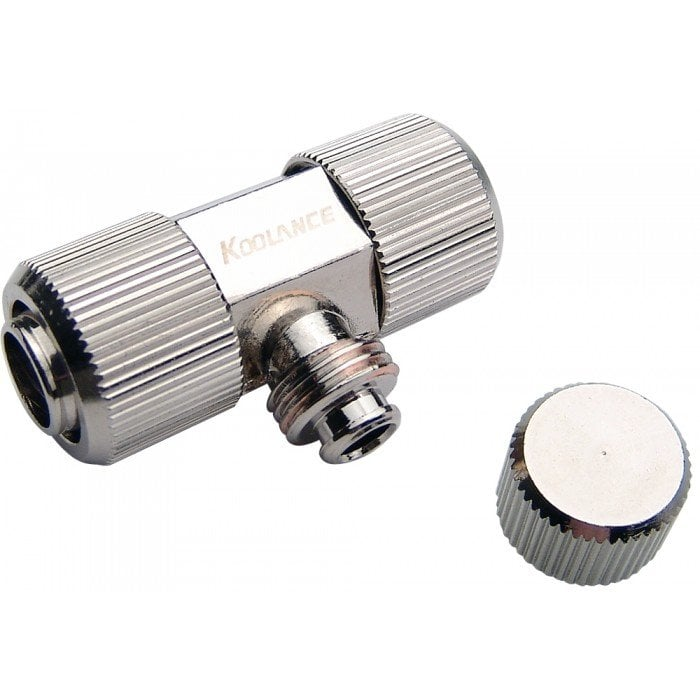 """Drain Valve, Pass Trough Fitting for ID 10mm (3/8""""-1/2"""")"""