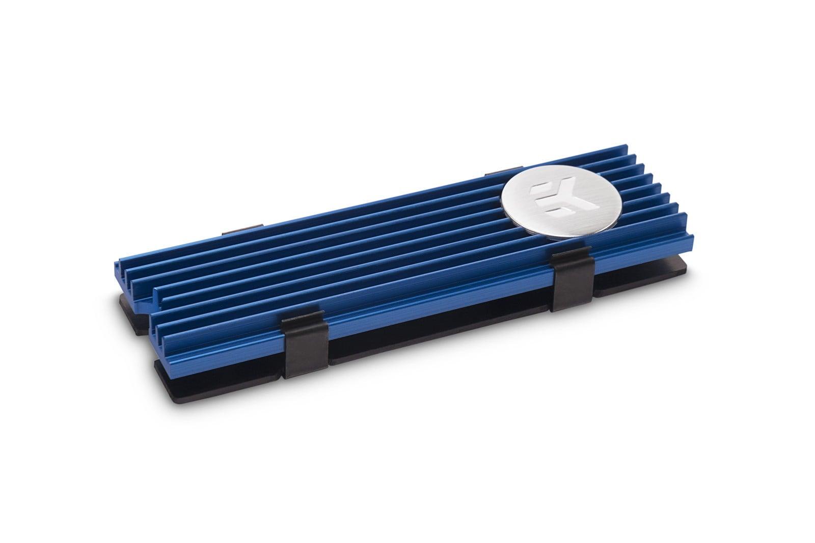 EK-M.2 NVMe Heatsink – Blue