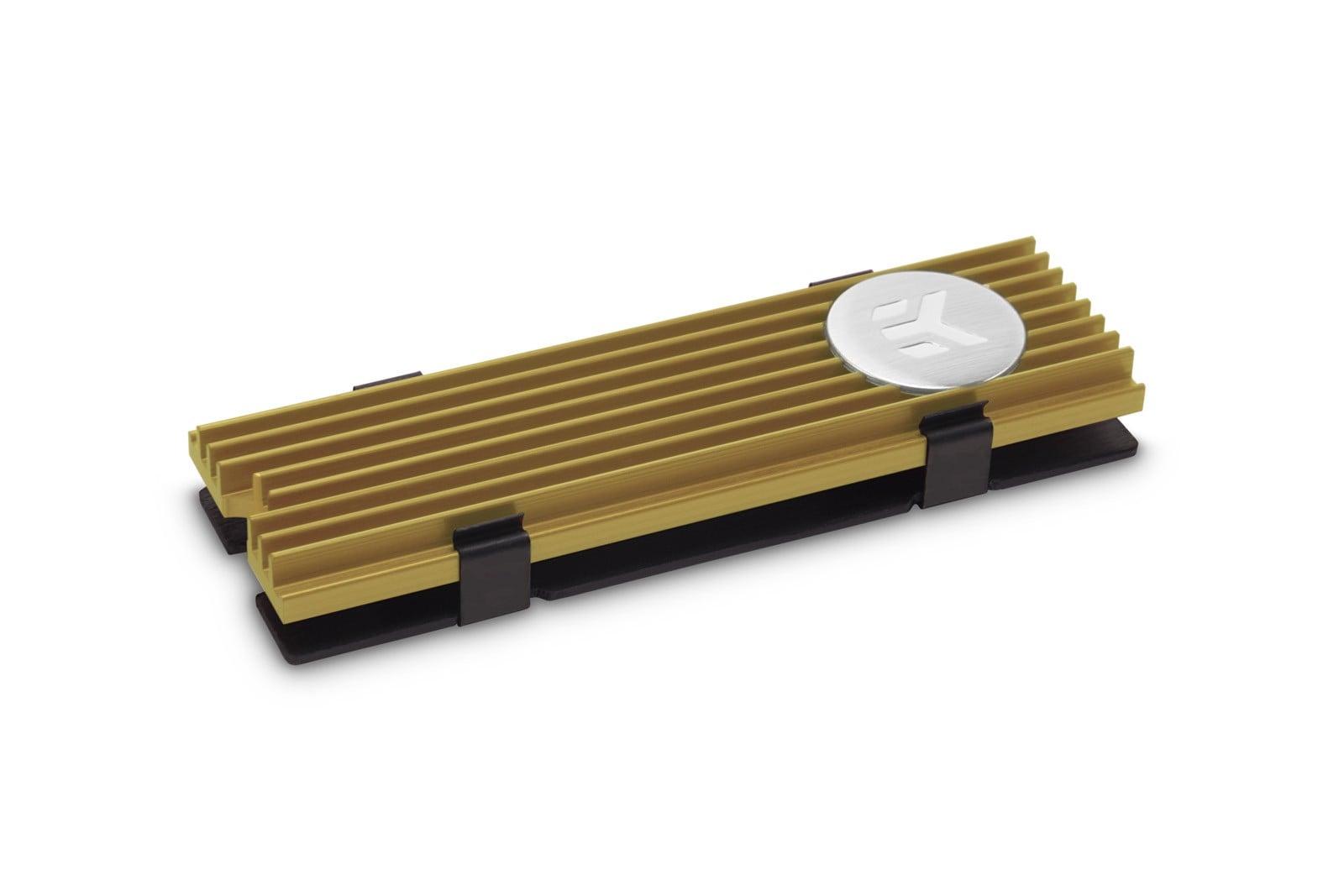 EK-M.2 NVMe Heatsink – Gold