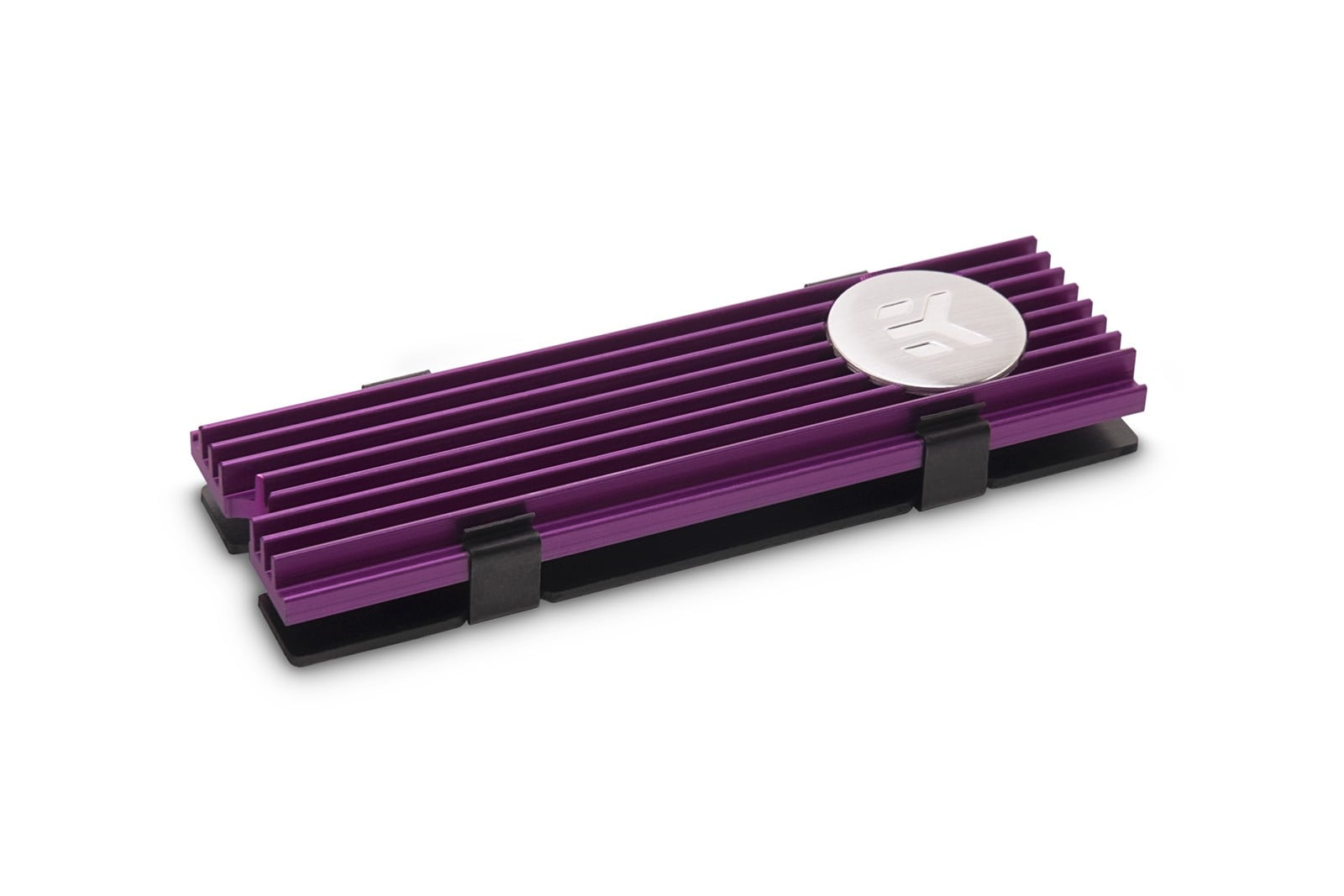EK-M.2 NVMe Heatsink – Purple