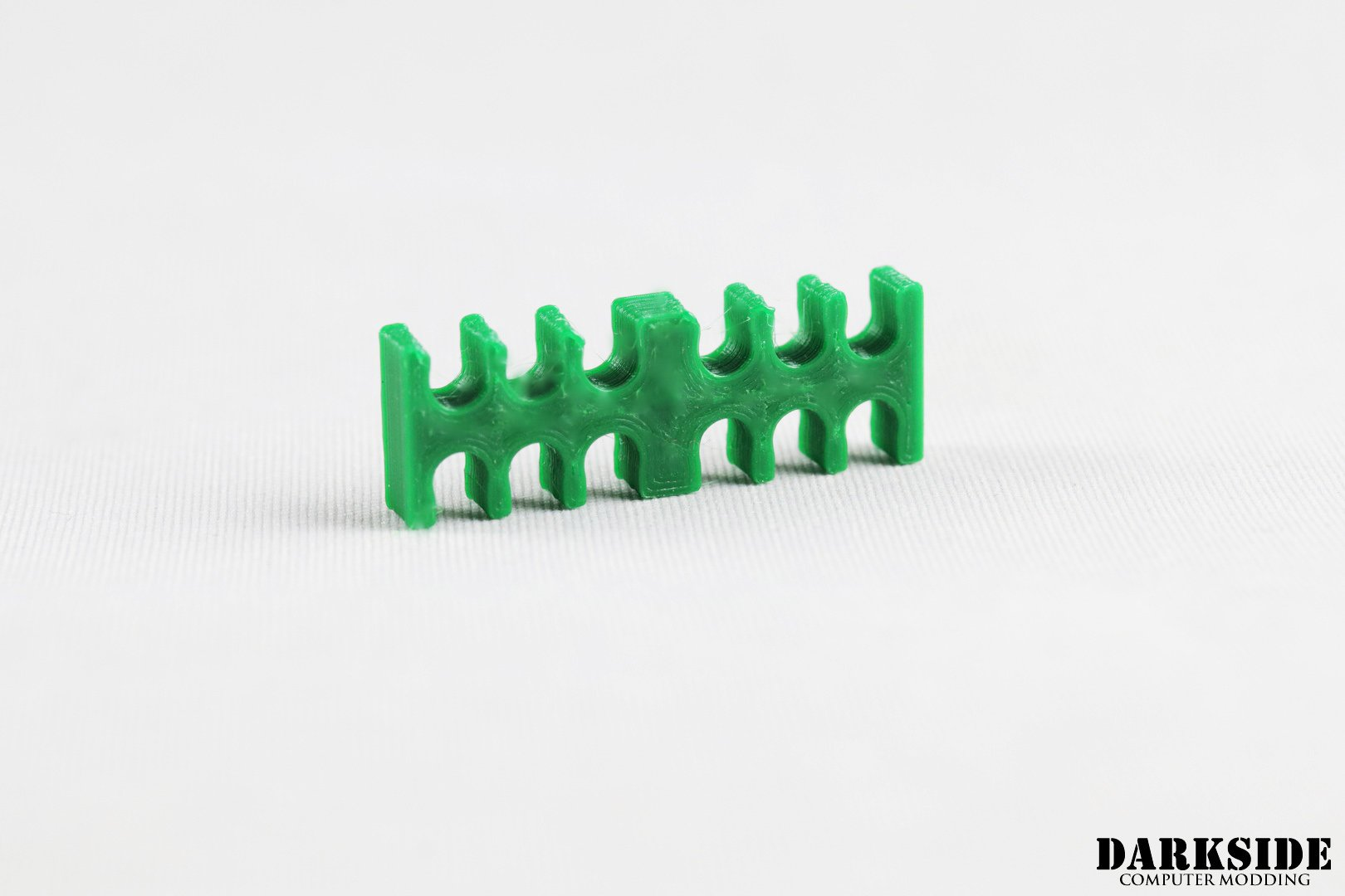 12-pin Cable Management Holder Comb – Dark Green
