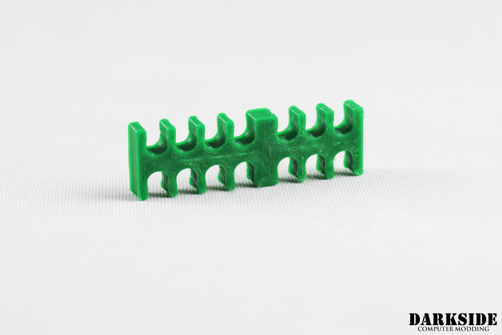 14-pin Cable Management Holder Comb – Dark Green