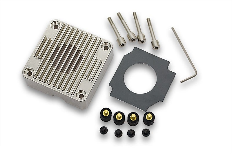 EKWB EK-DDC Heatsink Housing – Nickel
