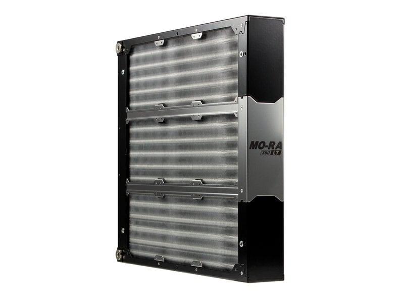 Mo ra3 360 lt black extreme radiator 9 x 120mm dazmode for Stahlwandpool 360 x 120