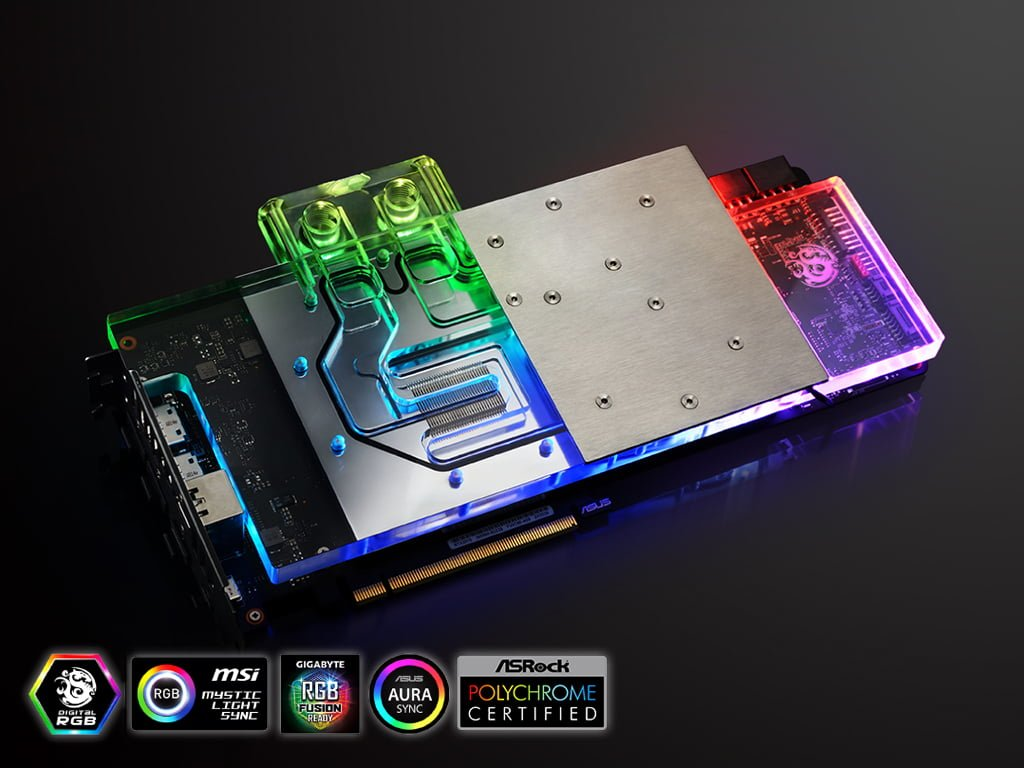 Bitspower RGB Waterblock for ASUS ROG Strix GeForce RTX 2070/2060